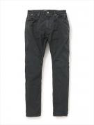 DWELLER 5P JEANS USUAL FIT COTTON POPLIN OVERDYED