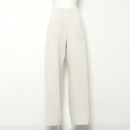 C/L DOLCE DENIM SIDE ZIP WIDE PANTS