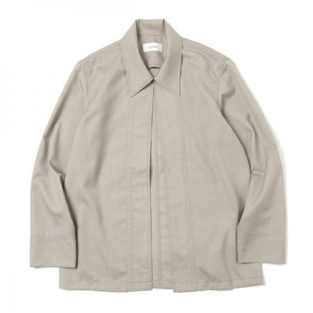 No Button Wool SH Blouson