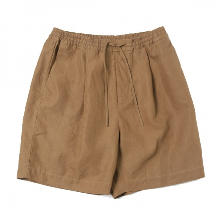 LINEN WEATHER / EASY WIDE SHORT PANT