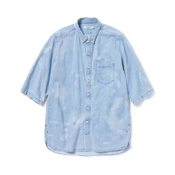 DWELLER B.D. SHIRT S/S COTTON 8oz DENIM VW
