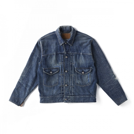 OPEN COLLAR RANCH JACKET (SCAR FACE)