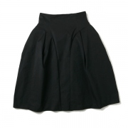 pe.twill tacked skirt