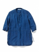 RANCHER PULLOVER LONG SHIRT QS LINEN CANVAS