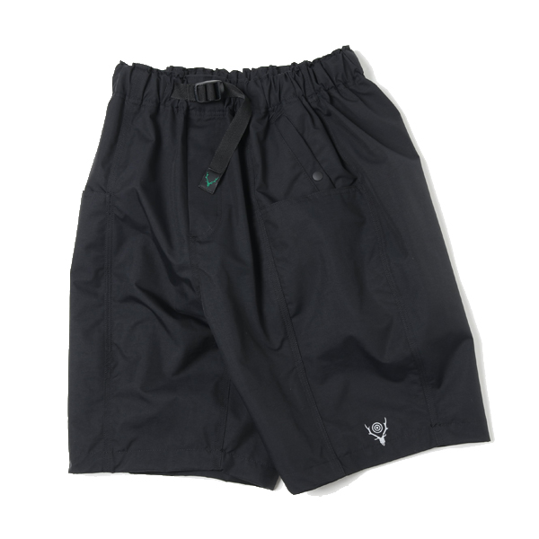 Belted Center Seam Short - Nylon Tussore