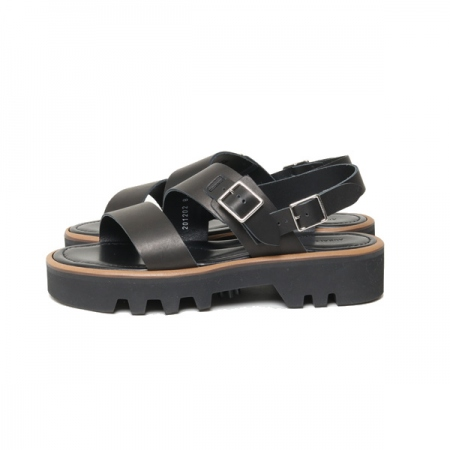 LEATHER BELT SANDALS MADE BY FOOT THE COACHER