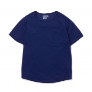 Indigo Damage Pocket Tee