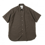 UTILITY COMFORT SHIRTS S/S SUPER120s WOOL