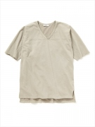TRAINER TEE Q/S COTTON SWEAT OVERDYED