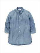 "DWELLER B.D. SHIRT Q/S C/P CHAMBRAY VW ""CONNIE"""