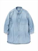 "DWELLER B.D. SHIRT Q/S C/P CHAMBRAY VW ""KAY"""