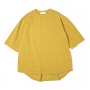 CREW NECK Tee COTTON PIQUE