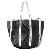 sail cloth logo tape big shift bag