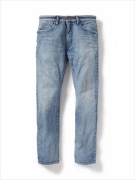 DWL 5P JEANS COTTON 12oz SELVEDGE DENIM VW LIGHT