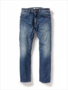 DWELLER 5P JEANS COTTON 12oz SELVEDGE DENIM VW MID