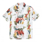 HAWAIIAN FLOWER PRINTED SHIRT