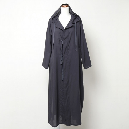 RUMEX HOOD LONG SHIRT