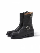 BIKER ZIP UP BOOTS COW LEATHER byOFFICINE CREATIVE