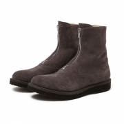 ROAMER CHUKKA ZIP BOOTS COW SUEDE by OFFICINE CRE