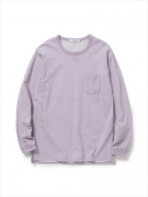 DWELLER L/S TEE COTTON PLATED JERSEY