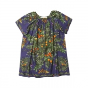 TROPICAL PATTERN PRINTED TUNIC