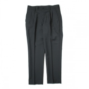 DOUBLE PLEATED TROUSERS TAPERED WOOL TOROPICAL