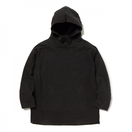 TROOPER HOODIE COTTON SLAB JERSEY OVERDYED