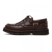 HUNTER DECK SHOES COW LEATHER