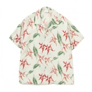Rayon Open Collar Aloha S/S Shirt