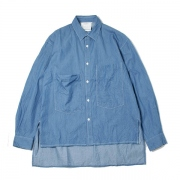 DUNGAREE BIG POCKET SHIRT