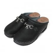 Swedish Clog -Suede /Bit