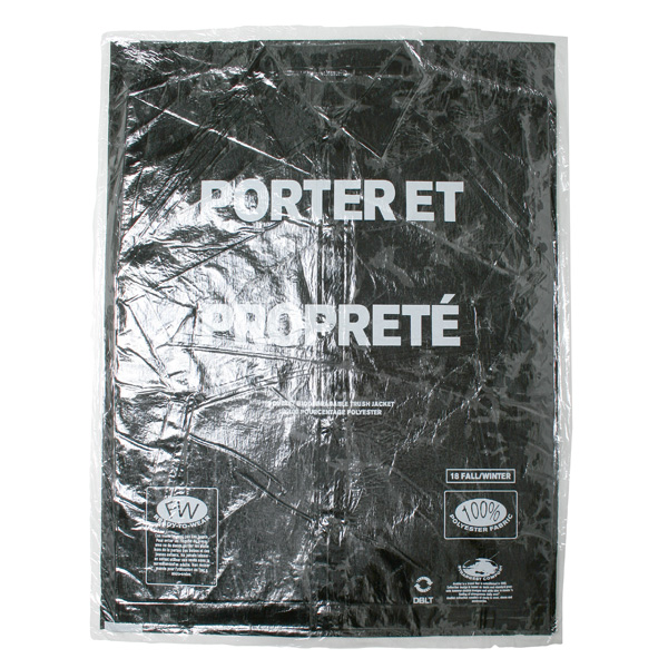 GARBAGE-BAG PACKAGE COACHES JACKET