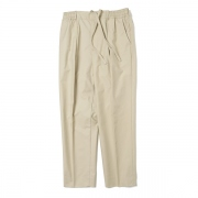 PEGTOP EASY TROUSERS ORGANIC COTTON WEATHER CLOTH