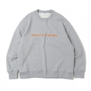 SWEAT SHIRT (RUBBER PRINT)