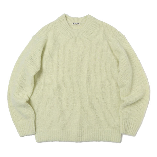 ALPACA WOOL SUPER LIGHT KNIT BIG P/O