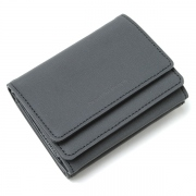 reflect leather compact wallet