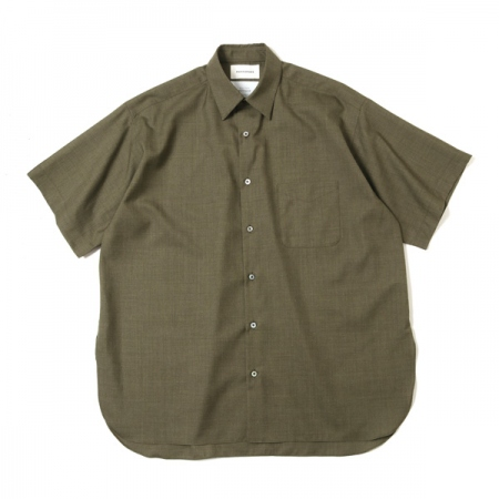 COMFORT FIT SHIRTS S/S SUPER120s WOOL TROPICAL