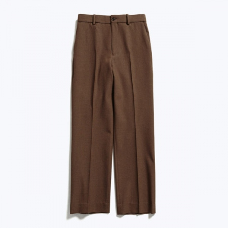 STRAIGHT FIT TROUSERS ORGANIC WOOL SURVIVAL CLOTH