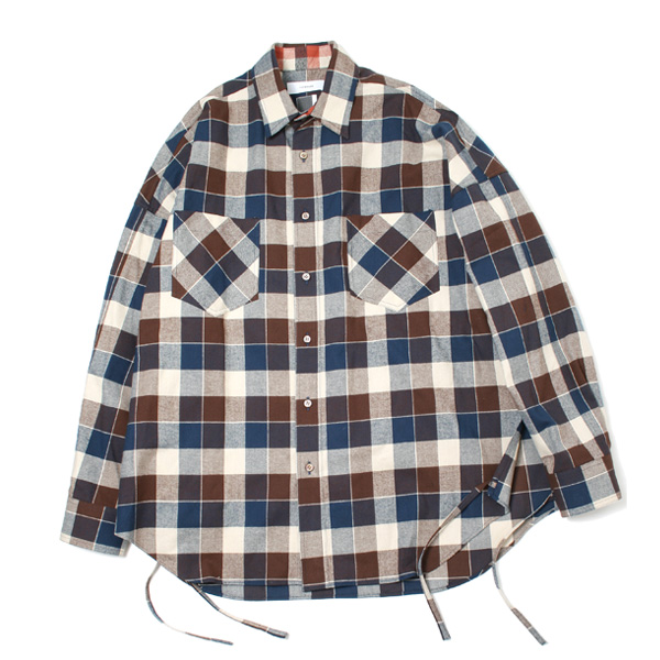 WIDE CHECK SHIRT