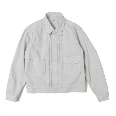 Garment Dye Denim Blouson