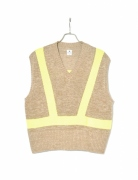 SAFETY LINEN KNIT VEST