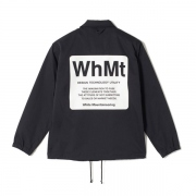 WhMt PRINTED COATCH JACKET