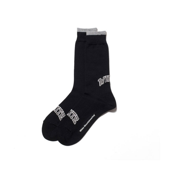 WM LOGO MIDDLE SOCKS