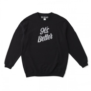 "CREW NECK SWEATSHIRTS ""GOLDEN BROWN"""