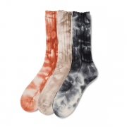 Tie Dye Cotton Rib Socks