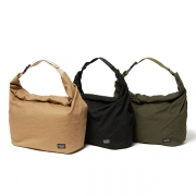 Cotton Twill Roll Top Bag