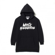 PRINTED BIG HOODIE 'WHITE MOUNTAINEERING'