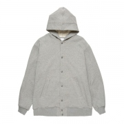 HOODED SWEAT AWARD JACKET