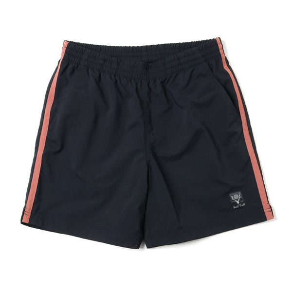 Side Line Trail Short - N/Pu Elastic Taffeta