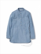 PILGRIM PULLOVER SHIRT COTTON CHAMBRAY